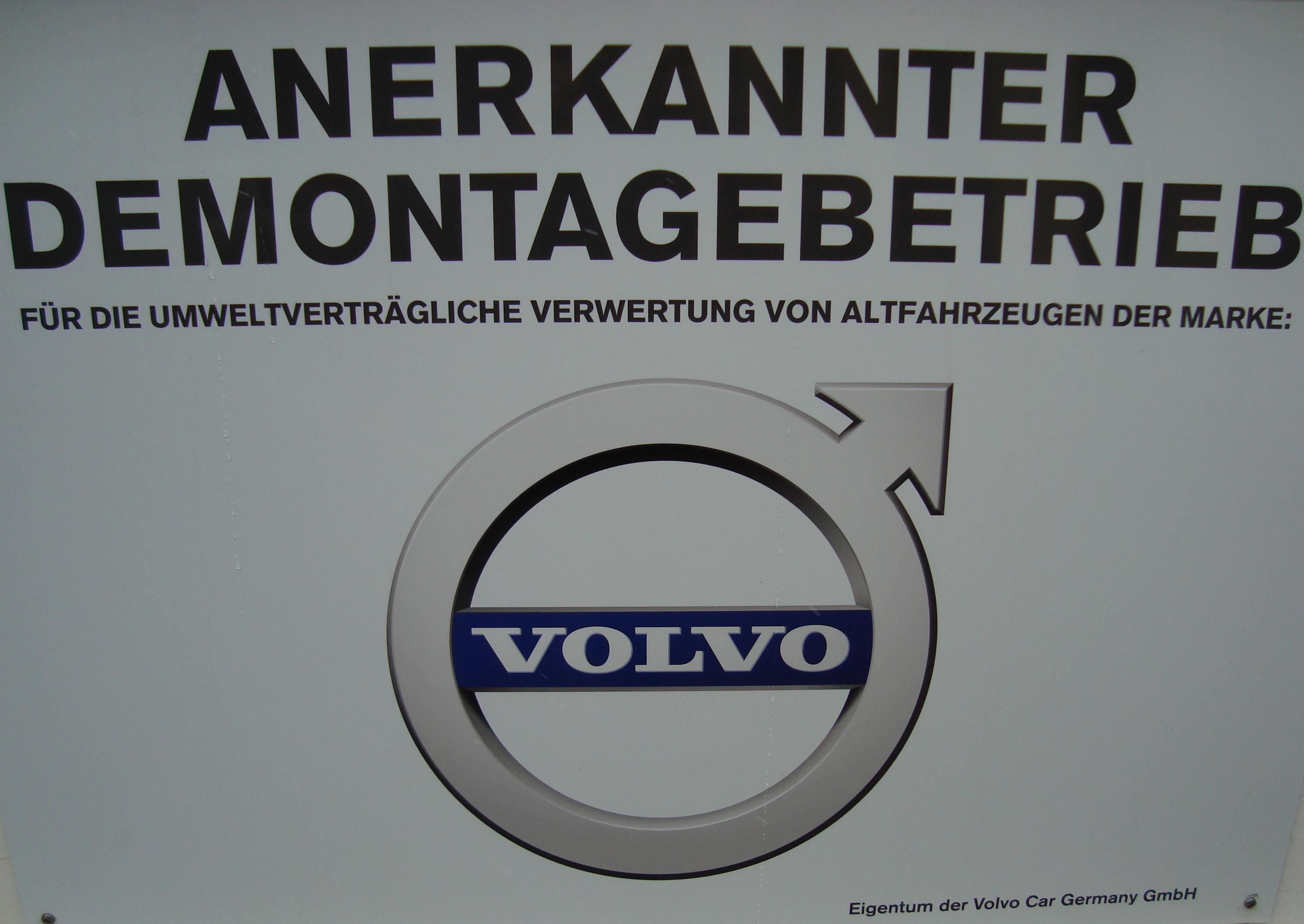 Volvo Kooperationspartner der Autoverwertung Quast